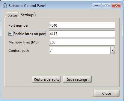 Subsonic_PortSettings