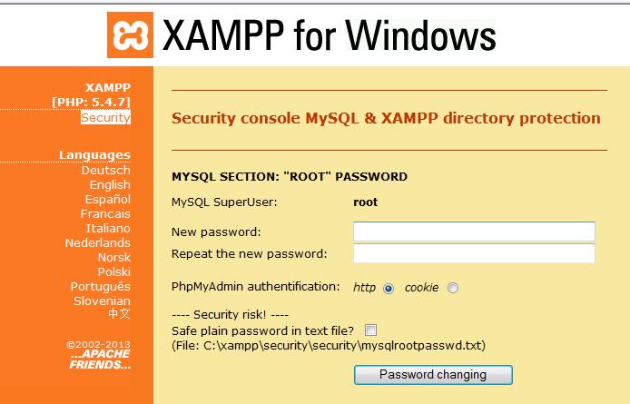 xampp security3