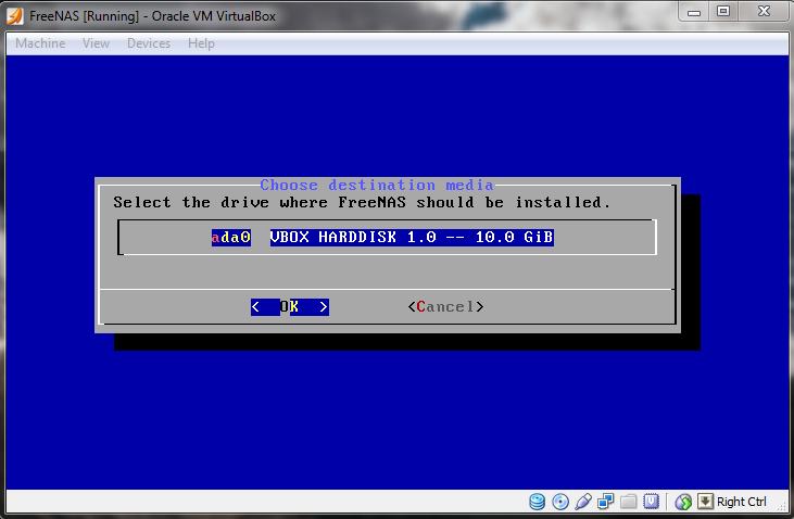 FreeNAS_Install_Step2