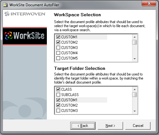 Autonomy_AutoFiler_WorkspaceSelection