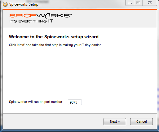 how to change spiceworks port number