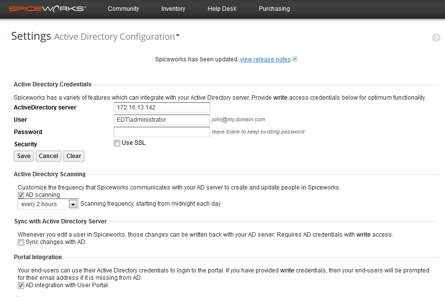 Spiceworks_Active_Directory_Configuration