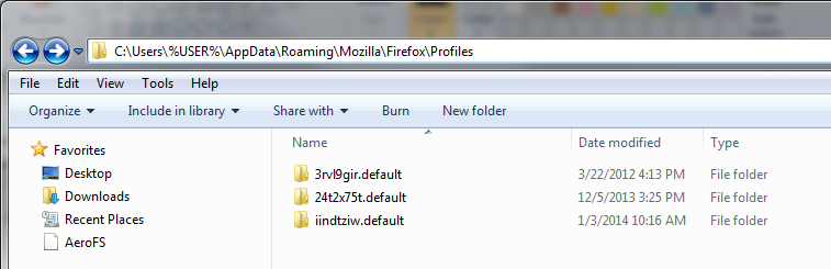 Move/Restore your Firefox Bookmarks & Data Files | EveryDay