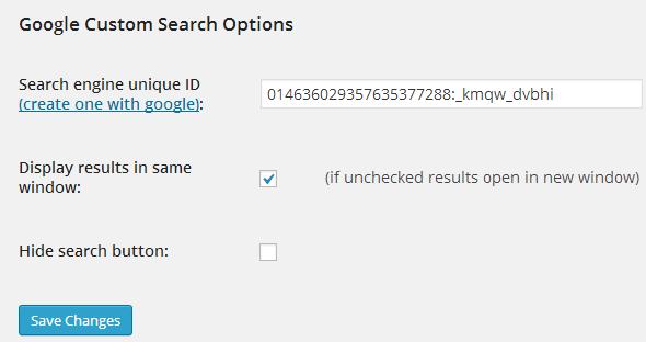 GoogleCustomSearch_Plugin_Config