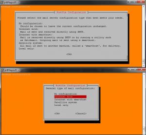 NagiosPi_PostFix_Setup_ScreenShots