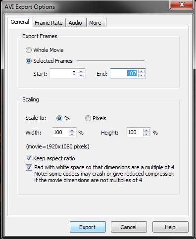 FlashBack_SelectFrames_Export