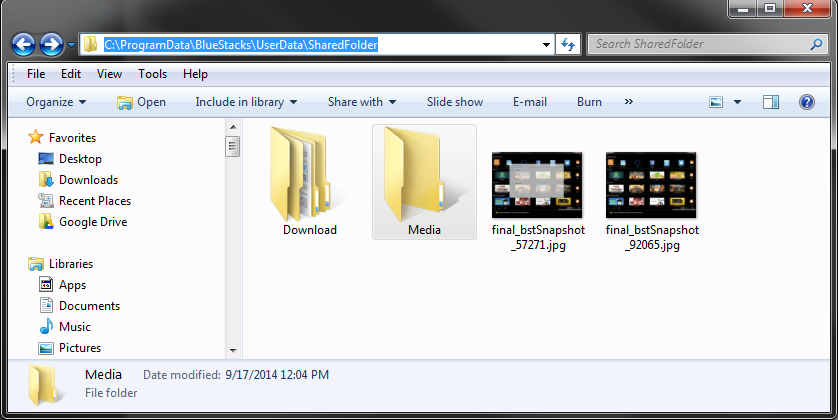 where are apk files stored in bluestacks