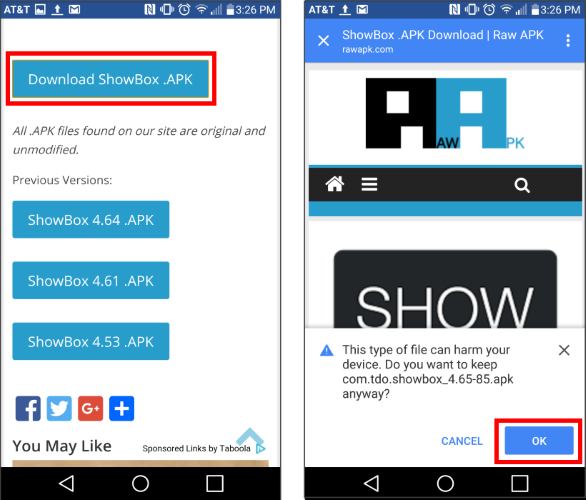 download showbox latest apk