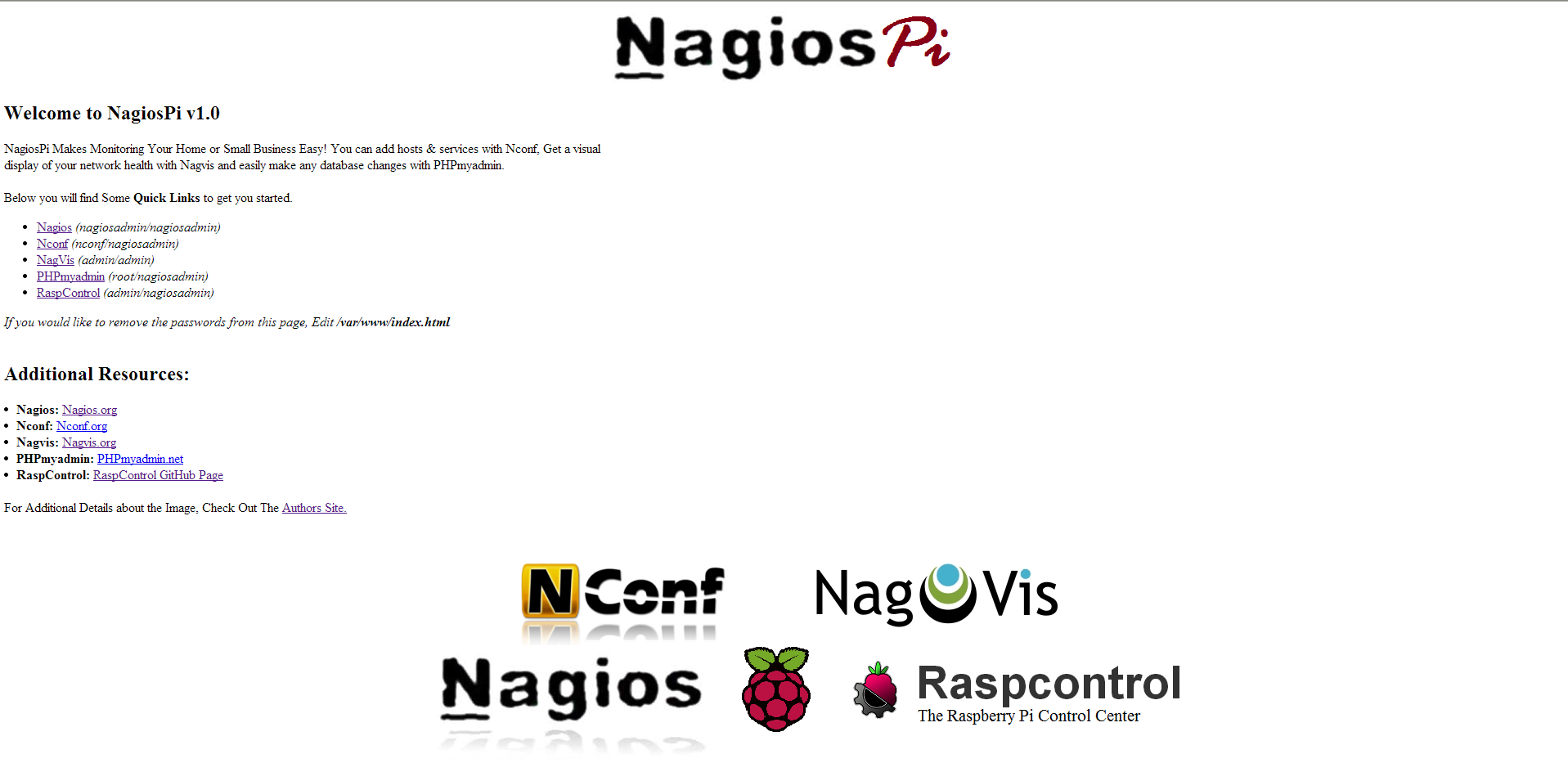 Nagiospi Server Monitoring With The Power Of Pi